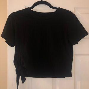 All Saints short sleeve black t shirt